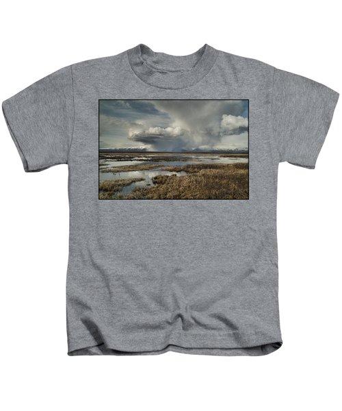 Rain Storm Kids T-Shirt