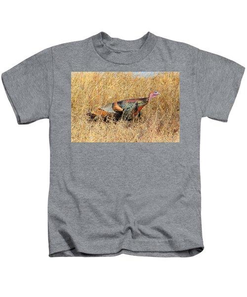 Rainbow Turkey Kids T-Shirt