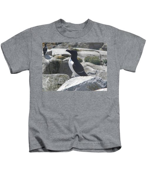 Razorbill Kids T-Shirt by James Petersen