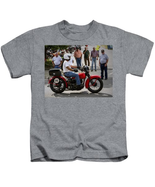 Red Harley 95 Kids T-Shirt