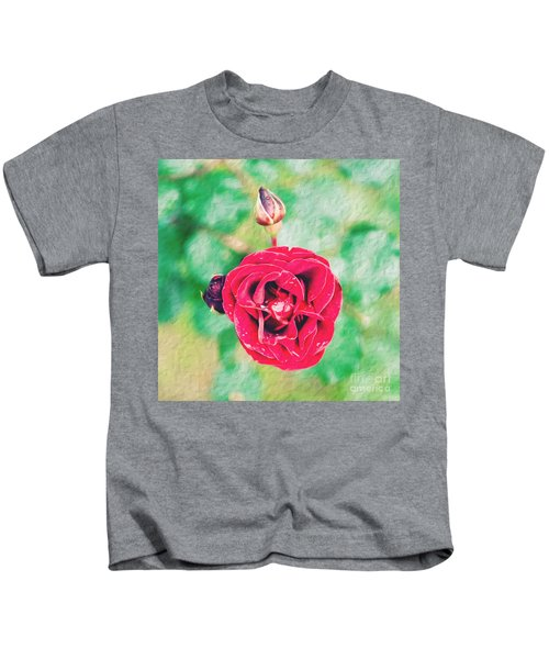 Red Rose Kids T-Shirt