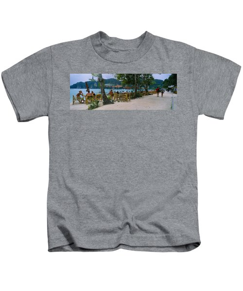 Restaurant On The Beach, Ko Phi Phi Kids T-Shirt