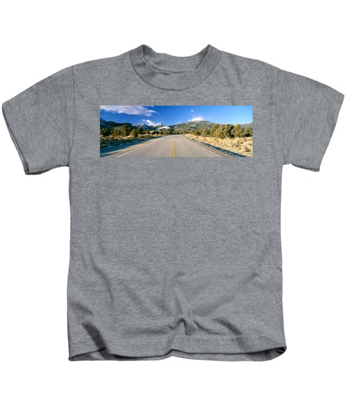 Road To Great Basin National Park Kids T-Shirt
