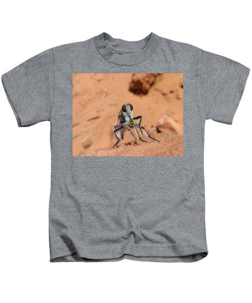 Robber Fly Kids T-Shirt