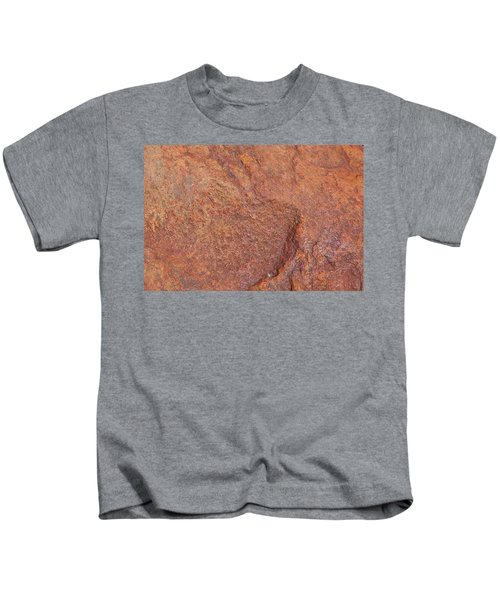 Rock Abstract #3 Kids T-Shirt