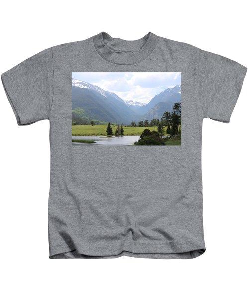 Rocky Mountain National Park  Kids T-Shirt