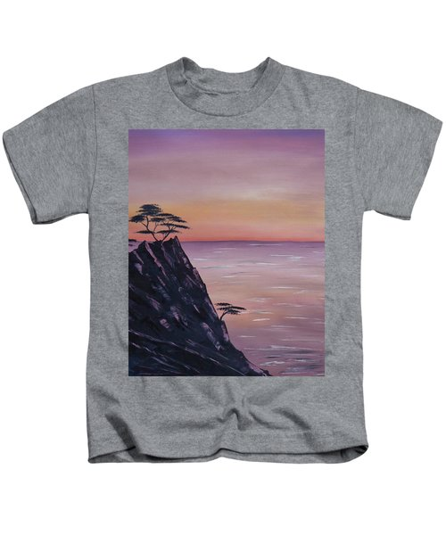 Rocky Sunset Kids T-Shirt