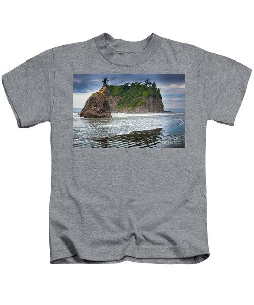 Ruby Beach Seastack Kids T-Shirt