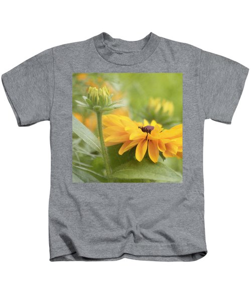 Rudbeckia Flower Kids T-Shirt