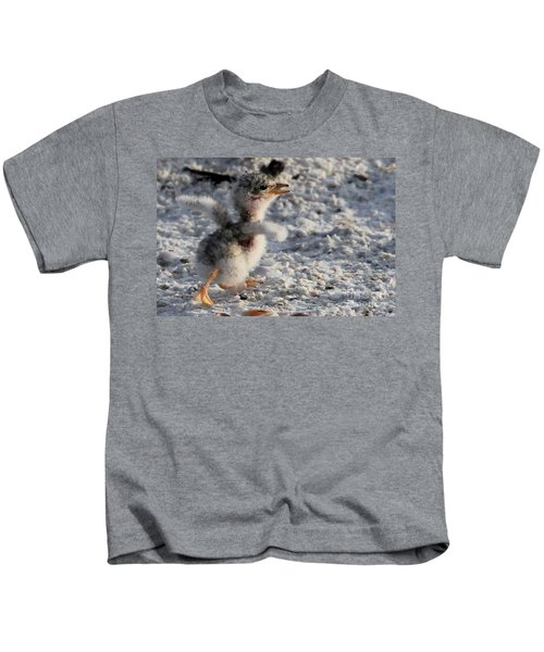 Running Free - Least Tern Kids T-Shirt