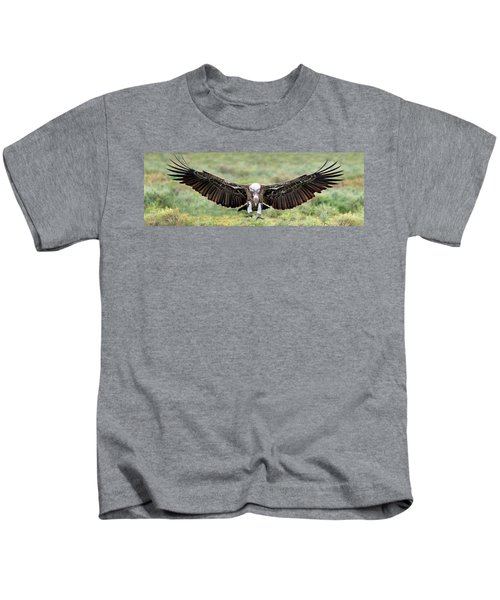 Ruppells Griffon Vulture Gyps Kids T-Shirt by Panoramic Images
