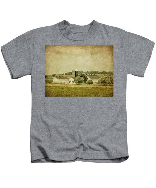 Rustic Farm - Barn Kids T-Shirt