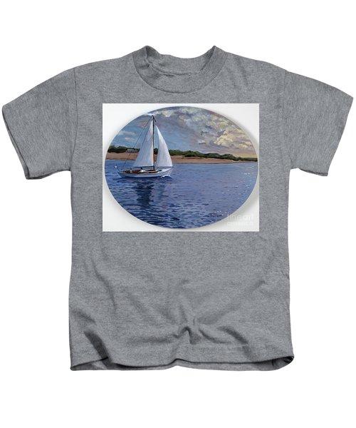 Sailing Homeward Bound Kids T-Shirt