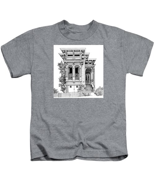 San Fracisco Victorian2 Kids T-Shirt