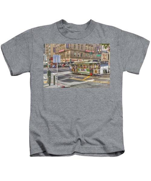 San Francisco Cable Car Kids T-Shirt