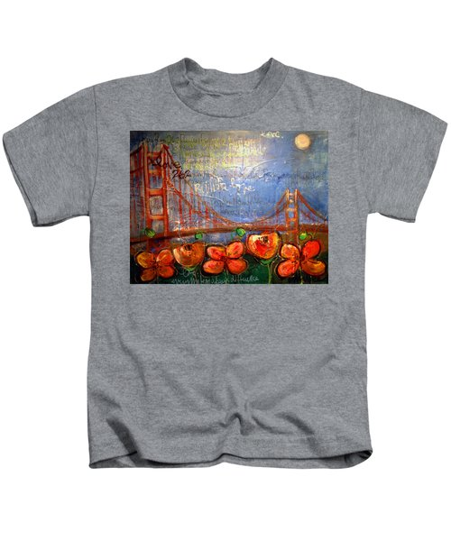 San Francisco Poppies For Lls Kids T-Shirt