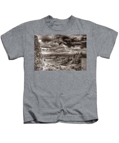 San Gimignano View Kids T-Shirt