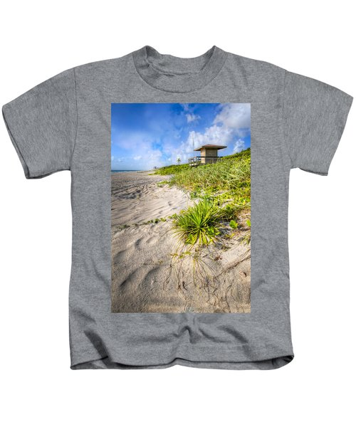 Sand On The Beach Kids T-Shirt
