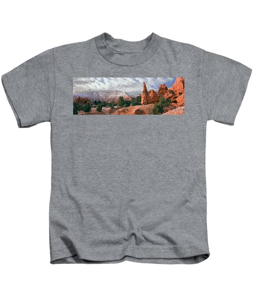 Sandstone Rock Formations, Kodachrome Kids T-Shirt