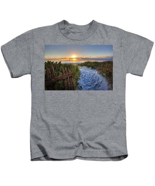 Sandy Trail Kids T-Shirt