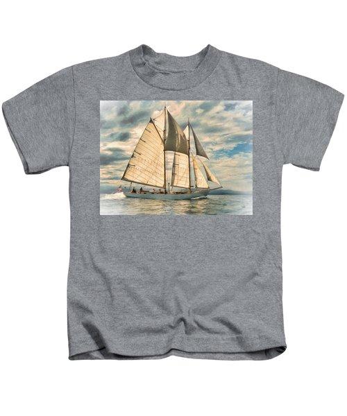 Schooner 101a Kids T-Shirt