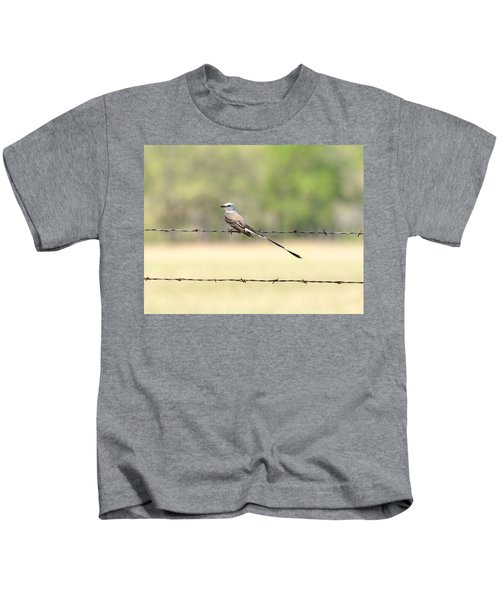 Scissor-tailed Flycatcher Kids T-Shirt
