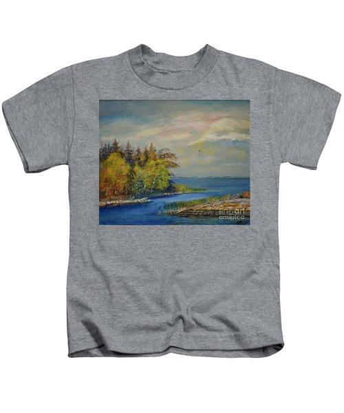 Seascape From Hamina 3 Kids T-Shirt