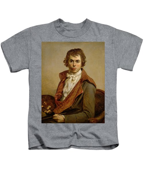 Self Portrait, 1794 Oil On Canvas Kids T-Shirt