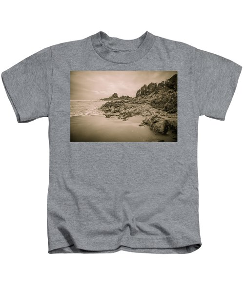 Cox Bay Sepia Kids T-Shirt