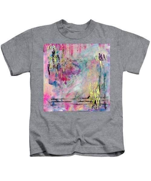 Serene Mist Encaustic Kids T-Shirt