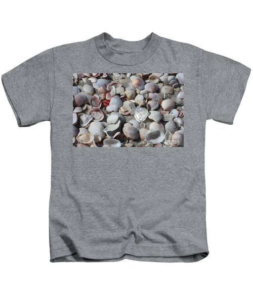 Shells On Treasure Island Kids T-Shirt