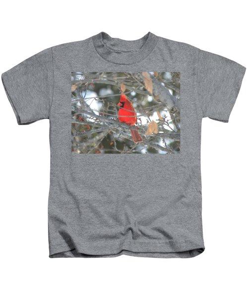 Shining Bright Red Kids T-Shirt