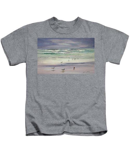 Shoreline Birds IIi Kids T-Shirt