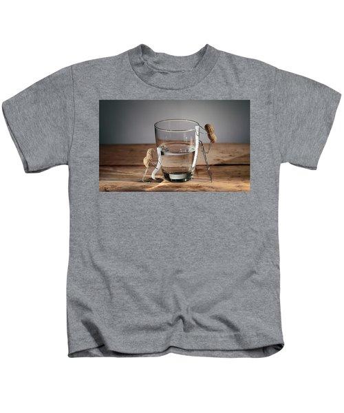 Simple Things - Half Empty Or Half Full Kids T-Shirt