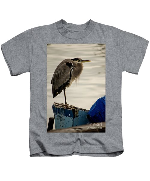 Sittin' On The Dock Of The Bay Kids T-Shirt