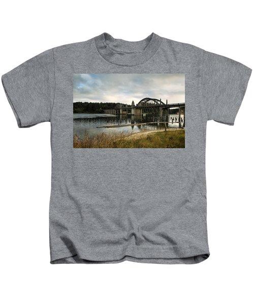 Siuslaw River Bridge Kids T-Shirt