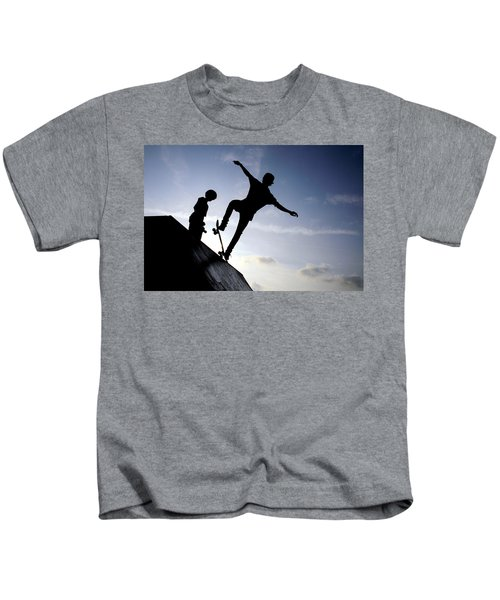 Skateboarders Kids T-Shirt