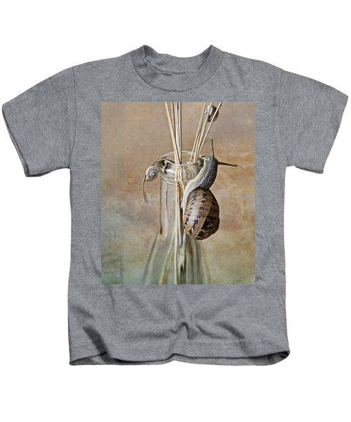 Snails Kids T-Shirt