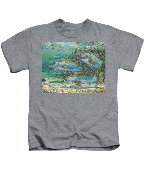Snook Attack In0014 Kids T-Shirt