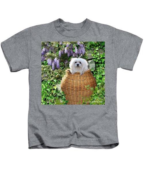 Snowdrop In A Basket Kids T-Shirt