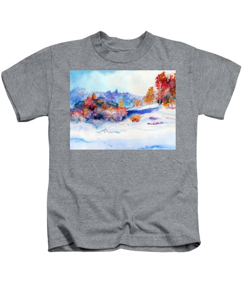 Snowshoe Day Kids T-Shirt