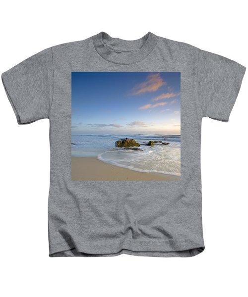 Soft Blue Skies Kids T-Shirt