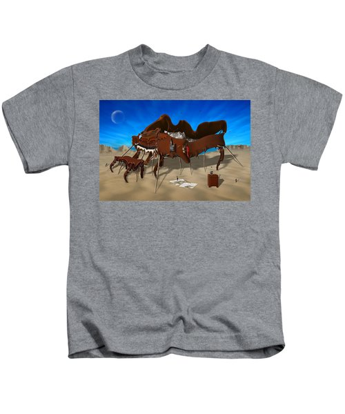 Softe Grand Piano Se Kids T-Shirt by Mike McGlothlen