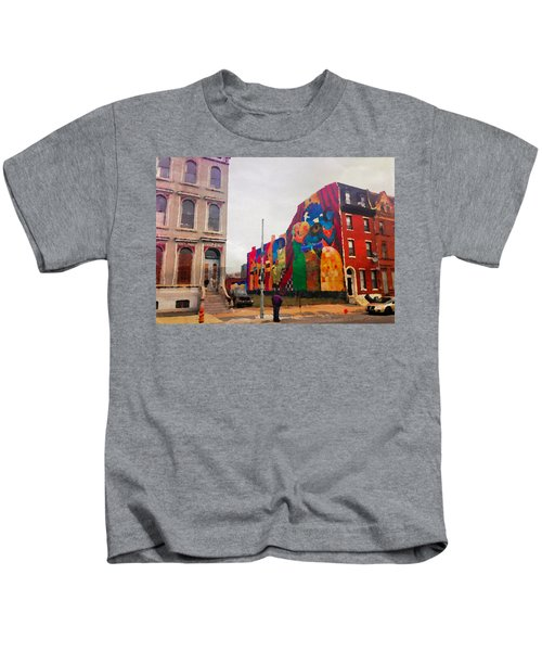 Some Color In Philly Kids T-Shirt