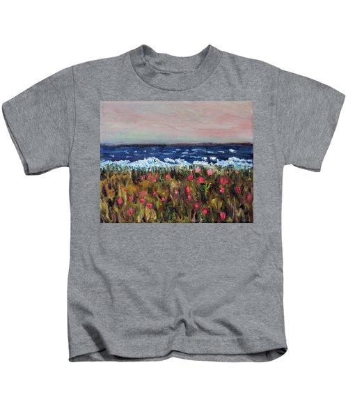 South Cape Beach Sunset Kids T-Shirt