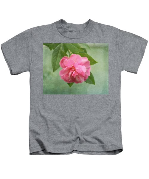 Southern Camellia Flower Kids T-Shirt