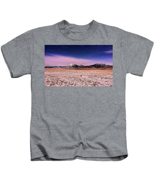 Southern Colorado Mountains Kids T-Shirt
