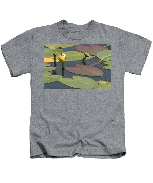 Spatterdock Heart Kids T-Shirt