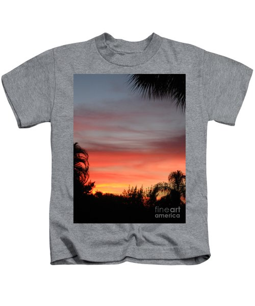 Spectacular Sky View Kids T-Shirt