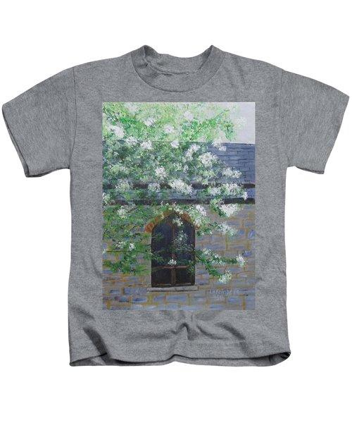 Spring At Grace Church Kids T-Shirt